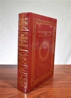 The Complete Book of U.S. Presidents - Easton Press - Leather bound