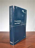 New York Stock Exchange Constitution & Rules 1997