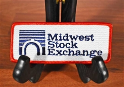 Midwest Stock Exchange Patch - Chicago