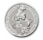 The Queen's Beast Bull Silver Coin - 2oz .9999 Silver