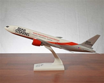 Vintage Bear Stearns Model Airplane - Boeing 777