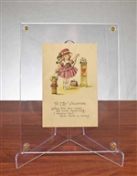 Vintage Valentine Stock Ticker Tape Post Card