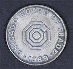 Chicago Board of Trade 1969 Coin