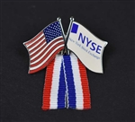NYSE & American Flag Lapel Pin