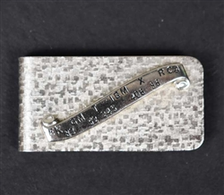Vintage Stock Ticker Money Clip
