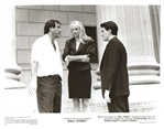 Wall Street The Movie - Stone, Sheen & Hannah Photo