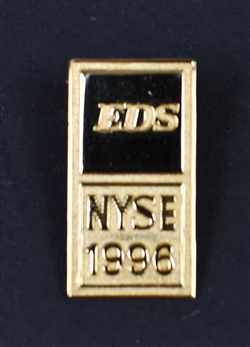 Electronic Data Systems (EDS) NYSE Lapel Pin - Ross Perot