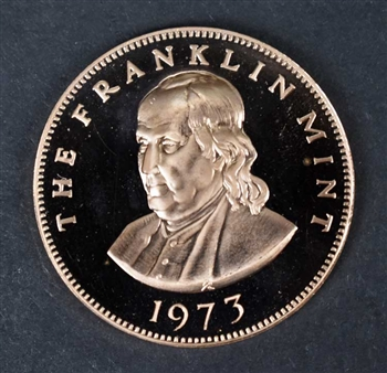 1973 Franklin Mint Listed London Stock Exchange Coin