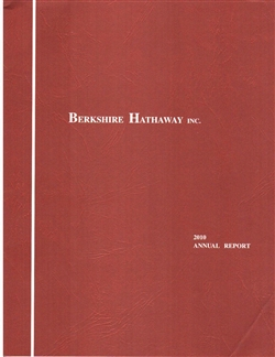 Berkshire Hathaway 2010 Annual Report