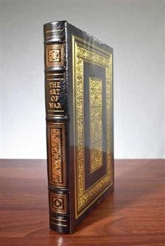The Art of War by Sun Tzu / Easton Press Leather Bound Mint