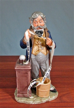 Vintage Stock Broker Figurine
