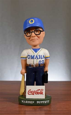 2003 Warren Buffett Bobblehead - Coca Cola