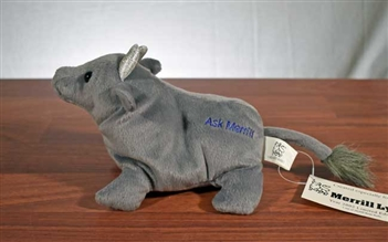 "Plush Merrill Lynch ""Ask Merrill"" Bull"