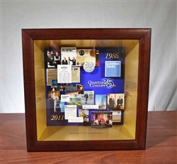 Goldman Sachs Quarter Century Club Shadow Box
