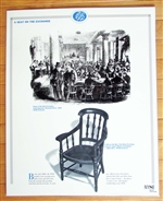 NYSE Laminated Seat on the Exchange Poster