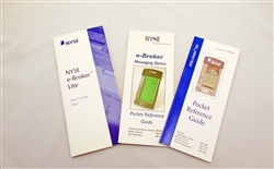 NYSE E-Broker User and Reference Guides - 2003