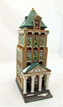 """Brokerage House"" Christmas in the City Series Statue"