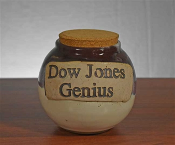 Dow Jones Genius Bank Jug