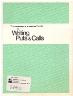 The Merrill Lynch Guide to Writing Puts and Calls