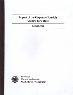 Impact of th Corporate Scandals on New York State by the State Comptroller