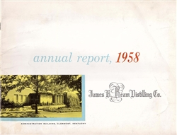1958 James B. Beam Distilling Co. (Jim Beam) Annual Report