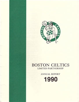 1990 Boston Celtics Annual Report