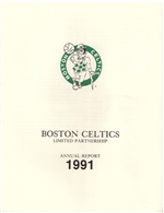 1991 Boston Celtics Annual Report
