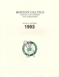 1993 Boston Celtics Annual Report