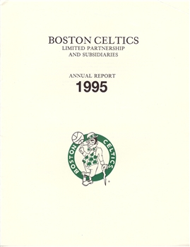 1995 Boston Celtics Annual Report