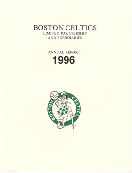 1996 Boston Celtics Annual Report