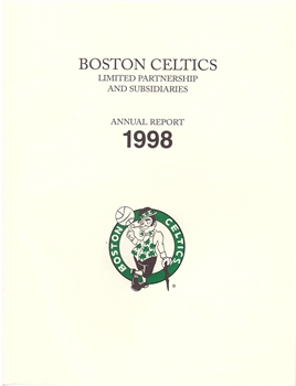 1998 Boston Celtics Annual Report