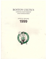 1999 Boston Celtics Annual Report
