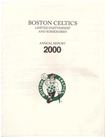 2000 Boston Celtics Annual Report
