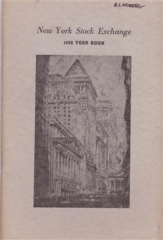 1955 New York Stock Exchange (NYSE) Year Book