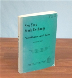 1967 - NYSE Constitution and Rules