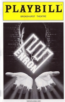 Enron PlayBill Broadhurst Theatre