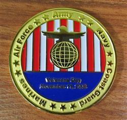Merrill Lynch Veteran's Day Challenge Coin