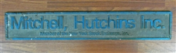 Mitchell, Hutchins Inc. NYSE Member Sign