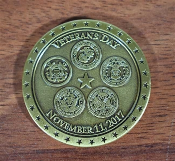 Merrill Lynch Veteran's Day Challenge Coin 2017