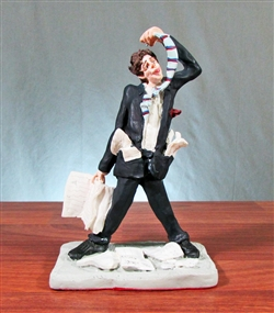 Bad Day Stock Broker Sculpture