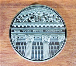 New York Stock Exchange Medallion