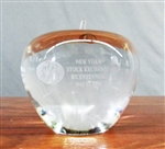 NYSE Bicentennial Tiffany Apple - Crystal