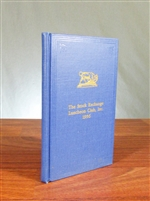 1956 Stock Exchange Luncheon Club By-Laws and Members