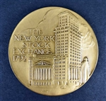 New York Stock Exchange Medallion - Vintage