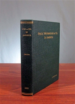 Price, Waterhouse & Co In America - 1951