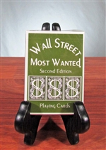 Wall Street Most Wanted Playing Cards