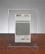 San Francisco Stock Exchange Buy Sell Slips - Rare