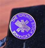 Vintage Toronto Stock Exchange Lapel Pin