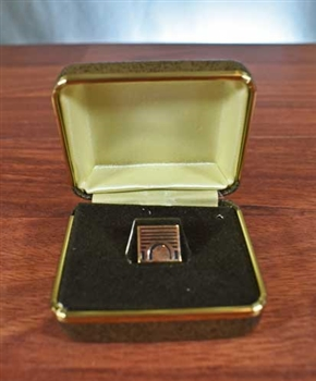 Vintage Midwest Stock Exchange Lapel Pin \ Tie Tac