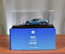 NIO - NYSE IPO Model Car Display- World's Fastest Electric Car